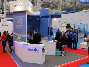 Evolvi – making a statement at the Business Travel Show