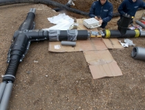 12th Century Manor benefits from 21st Century Pipe Technology